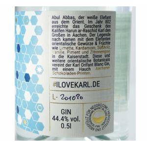 KARL ORIFANT BLANC Gin / 44.4% / 500ml