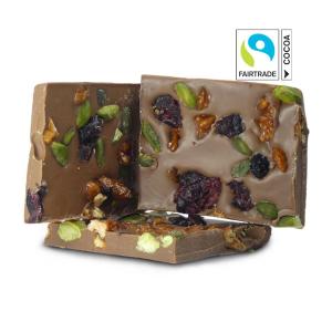Früchtemix-Schokolade