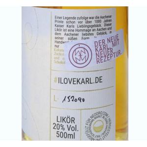 KARL Aachener Printen Liqueur / 20% / 500ml